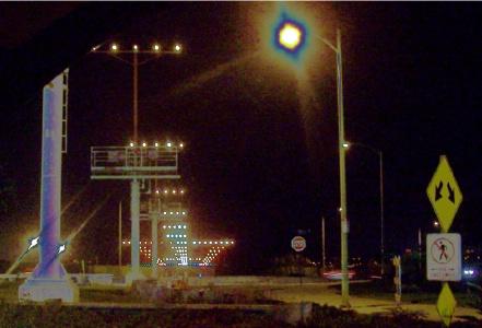 Airport Landing Strip Lights